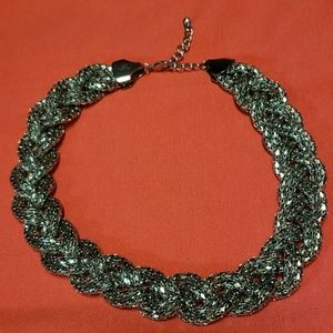 Jewelry - Beautiful silver choker statement necklace